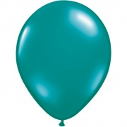 Balon Latex Jewel Teal, 5 inch (13 cm), Qualatex 43564, set 100 buc
