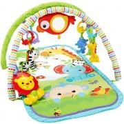 Saltea de joaca muzicala pentru bebelusi cu centru de activitati Fisher Price