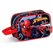 Karactermania Spiderman Hero Bolsa de Aseo, 21 cm, Azul