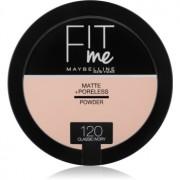 Maybelline Fit Me! Matte+Poreless матираща пудра цвят 120 Classic Ivory 14 гр.
