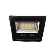 Proiector LED exterior, negru , 20W , lumina rece, 1800lm IP66 ,negru
