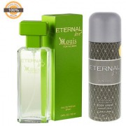 Eternal Love Eau De Parfum Xlouis Women 120ml + Eternal Love Body Spray Men 200ml
