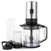 Blender multifunctional 3 in 1 VonShef 2000080, Putere 500W, Blender, Tocator, Rasnita