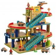 Set de garaje y autolavado de madera KidKraft wash n Go (L)