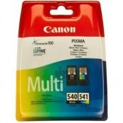 Canon PG-540XL/CL-541XL 50x Photo Paper Value Pack 15ml 21ml Negro, Cian, Amarillo, Magenta cartucho de tinta