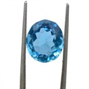 13.85 Ratti High quality Topaz stone Blue topaz Lab Certified