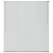 vidaXL Jaluzele pentru ferestre, aluminiu, 80 x 130 cm, argintiu
