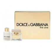 Dolce & Gabbana The One 50Ml Edp 50Ml + 100Ml Lozione Corporale Per Donna (Eau De Parfum)