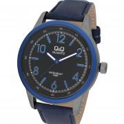 Reloj Q&Q Q922J515Y - Azul Malla Cuero