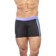Narciso Square Cut Trunk Swimwear NATAL BLACK/LIGHT BLUE