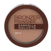Gabriella Salvete Bronzer Powder Spf15 8G 02 Per Donna (Cosmetic)
