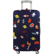 LOQI Pokrowiec na walizkę LOQI Celeste Wallaert Night Night