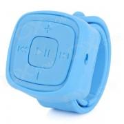 Portatil reloj deportivo estilo reproductor de MP3 w / TF? de 3?5 mm? Mini USB - Blue