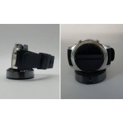 "Samsung Smartwatch Samsung Galaxy Gear S3 Classic Sm R770 (Cinturino In Gomma - Taglia L) 1.3"" Super Amoled 4 Gb Dual Core Wifi Nfc Bluetooth Refurbished Silver"