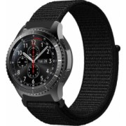 Curea Sport Nylon MTP 22mm Black pentru HUAWEI WATCH 2 Classic