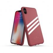 adidas Originals Molded Case PU suede iPhone XS Max - coque rose