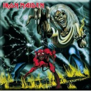 magnet Iron Maiden - Number Of Of Beast Fridge Magnet - ROCK OFF - IMMOfG03
