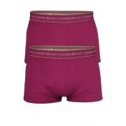 Matias Ein Nur Der bavlněné boxerky 2pack M tmavě růžová