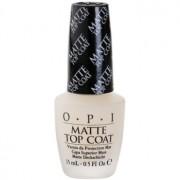 OPI Matte Top Coat esmalte de uñas matificante 15 ml