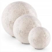 Blumfeldt Gemstone Juego de lámparas de piedra Lámparas de bola 3 tamaños Aspecto piedra natural (PL-Gemstone-Set)