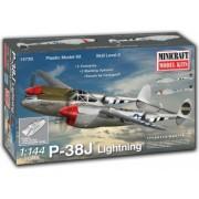 Minicraft 14730 - 1 144 P-38J Lightning with 2 marking options