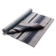 COTTON YOGA RUG (Stormy Sky) (28in x 74in x 1/8in) 71cm x 188cm x 3mm