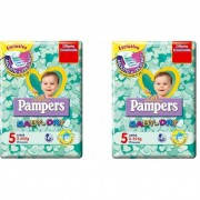 Pannolini pampers baby dry junior misura 5 11-25 kg 34 pezzi