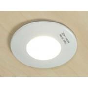 aniba Design Lumière à encastrer Aluminium Dimensions: env. Ø 85 mm, Trou Ø 70 mm, Profondeur 55 mm, Blanc