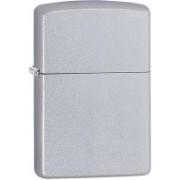 Zippo Lighter Classic Plain Satin Chrome Carabiner(Silver)