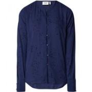 Another-Label Louvois blouse met flockprint