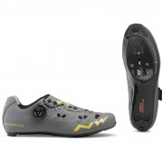 Northwave Extreme GT Road Shoes - Anthracite/Gold - EU 45/UK 11/US 12 - Grey/Gold