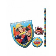 Vegaoo Briefpapier set van Brandweerman Sam One Size