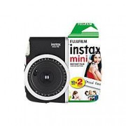 Fuji Instant Camera Instax Mini 90 Black + 1 x 20 shot film pack