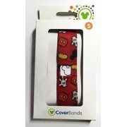 Walt Disney World Magic Band Red Mickey Mouse Coverbands Small