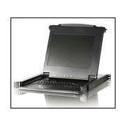 "ATEN CL1008M :: 8-port Slideaway™ LCD KVM превключвател с 17"" LCD console, 1280x1024"
