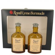 Royall Fragrances Royall Bay Rhum All Purpose Lotion / Cologne Splash 2 x 4 oz / 118.29 mL Includes 2 Spray Pumps Gift Set Men's