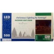 Instalatie de lumini de exterior cu 500 LED-uri Home KKL 500/WW Lungime 35 m IP44 230V lumina alba calda