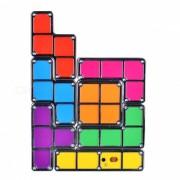 KM-05-01 DIY tetris estilo lampara de luz ajustable