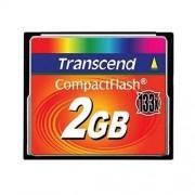 Transcend - Carte mémoire flash - 2 Go - 133x - CompactFlash