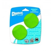 Chuckit! Erratic Ball, Medium, 2 pack
