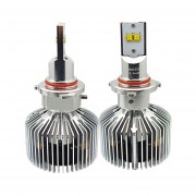 2 Pcs Hb4 45w Philips Mz 4500lm 6000k Blanco Light Car Led Head Lamp With Driver, Dc 11-30v