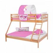 Dečiji krevet na sprat Maxim Natur Princess