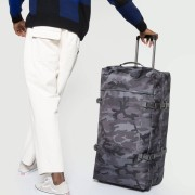 Eastpak Tranverz Constructed L 79cm 2-Wheel Soft-Sided Holdall - Constructed Mono Camo