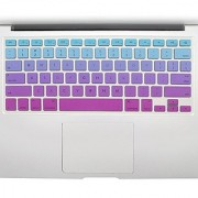 All-inside Blue and Pink Ombre Keyboard Skin for MacBook Pro 13 15 17 (with or without Retina Display) / MacBoook Air 13