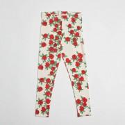 Mini Rodini rose leggings Offwhite