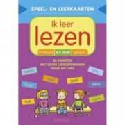 Speel- en leerkaarten - Ik leer lezen (6-7 j.)