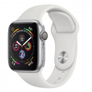 Apple Watch Series 4 GPS 40mm in alluminio argento - Sport Bianco