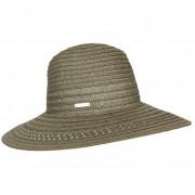 SEEBERGER cappello paglia fedora tesa larga