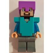 min060 Minifigurina LEGO Minecraft-Steve min060