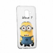 Husa Silicon Transparent Slim Minion Whaaat Huawei Honor 6 Plus 2016 Honor 6X